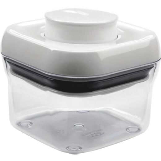 Oxo Good Grips 9.5 Oz. Clear Square Food Storage Container with Lid