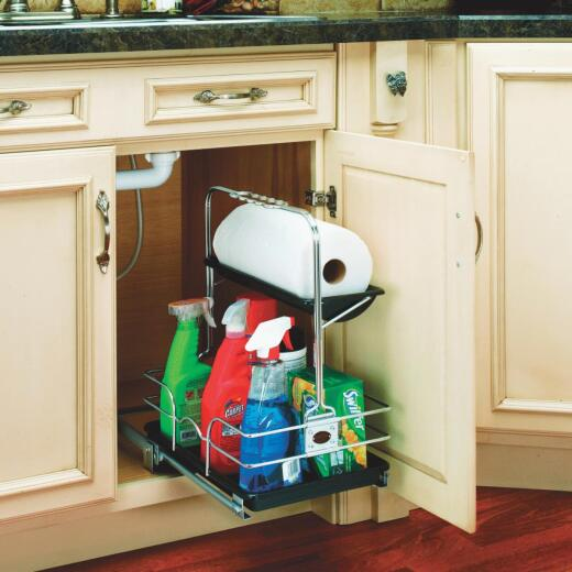 Rev-A-Shelf Undersink Pull-Out Removable Cabinet Organizer