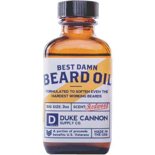 Duke Cannon 3 Oz. Redwood Beard Oil