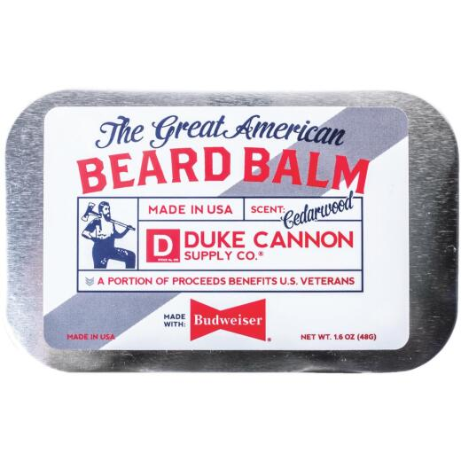 Duke Cannon 1.6 Oz. Great American Budweiser Beard Balm