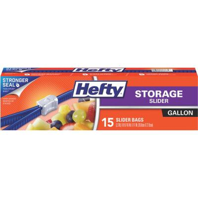 Hefty 1 Gal. Slider Food Storage Bag (15 Count)