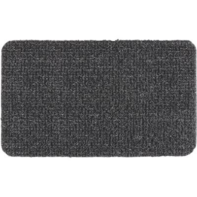 GrassWorx Clean Machine Classic Flint 17.5 In. x 29.5 In. AstroTurf Door Mat