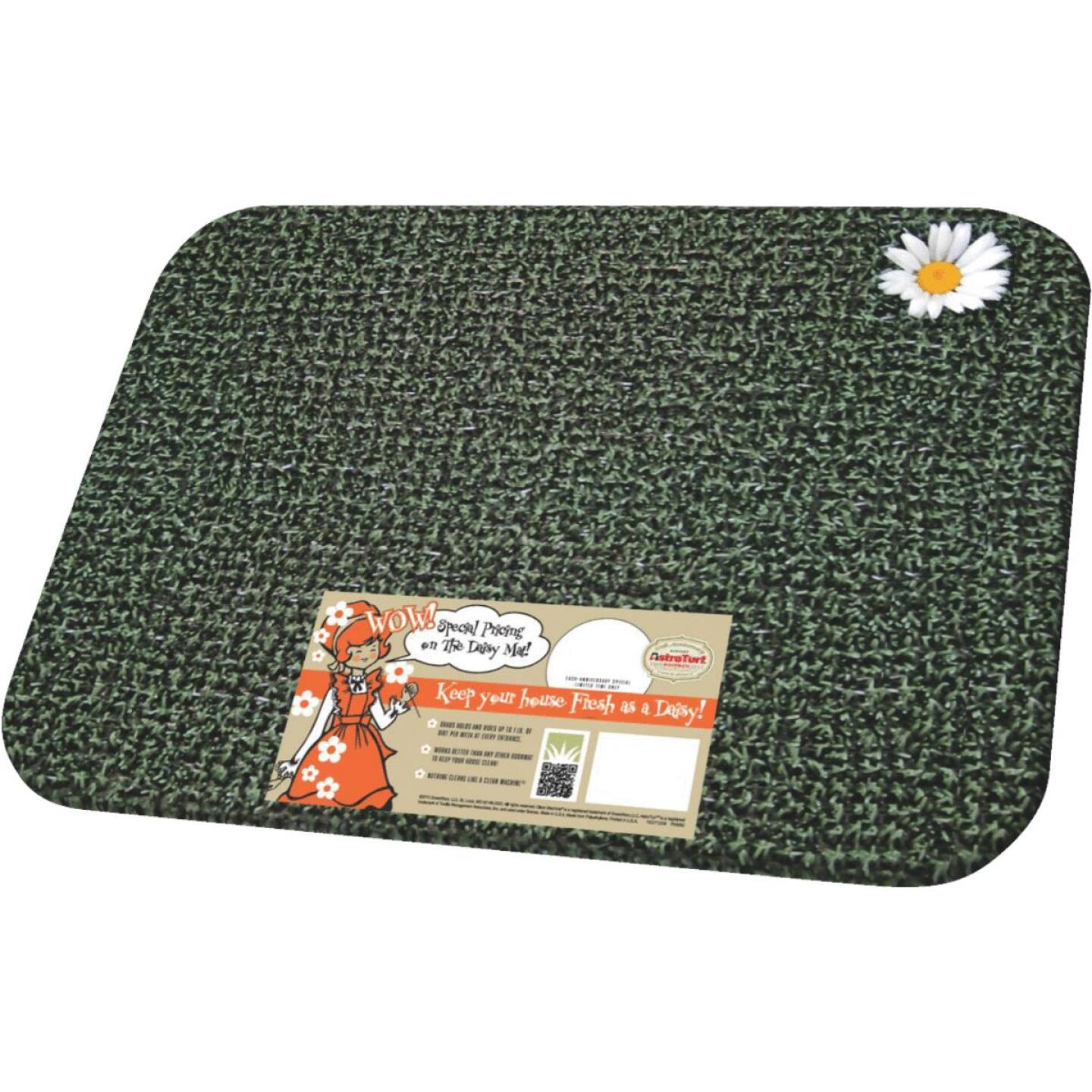 GrassWorx Clean Machine Classic Evergreen 17.5 In. x 23.5 In. AstroTurf Door Mat Image 1