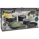 GraniteStone Diamond 10-Piece Non-Stick Aluminum Cookware Set Image 1
