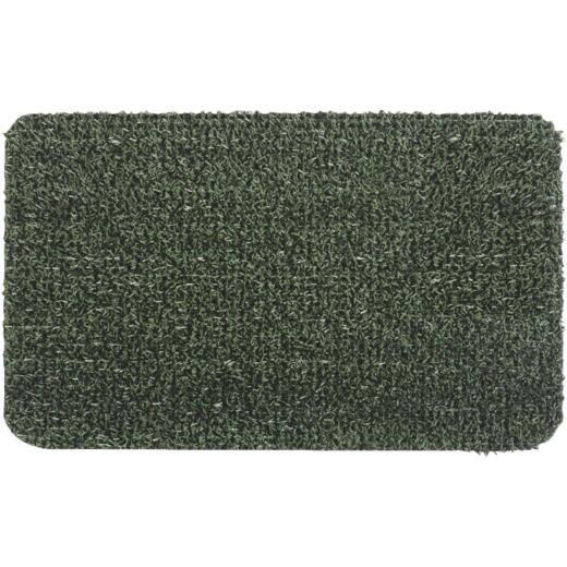 GrassWorx Clean Machine Classic Evergreen 24 In. x 35.5 In. AstroTurf Door Mat