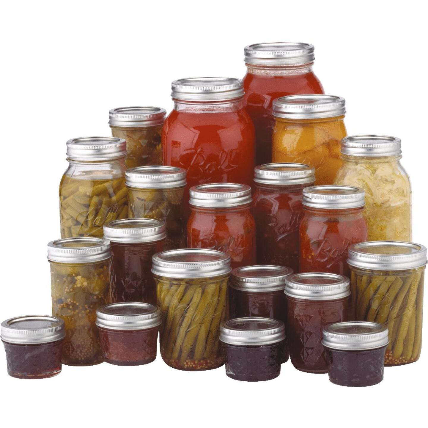 Ball Pint Wide Mouth Can-Or-Freeze Mason Canning Jar (12-Count) Image 4