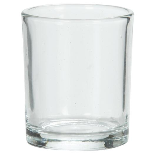 Candle-lite 5 In. Straight Sided Glass Votive Holder
