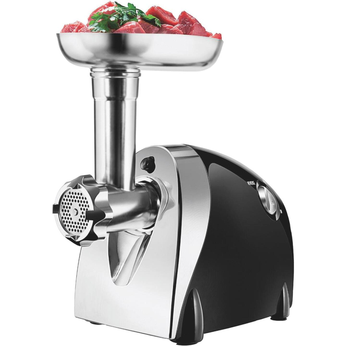 Chefman Choice Cut Black Electric Meat Grinder Image 1