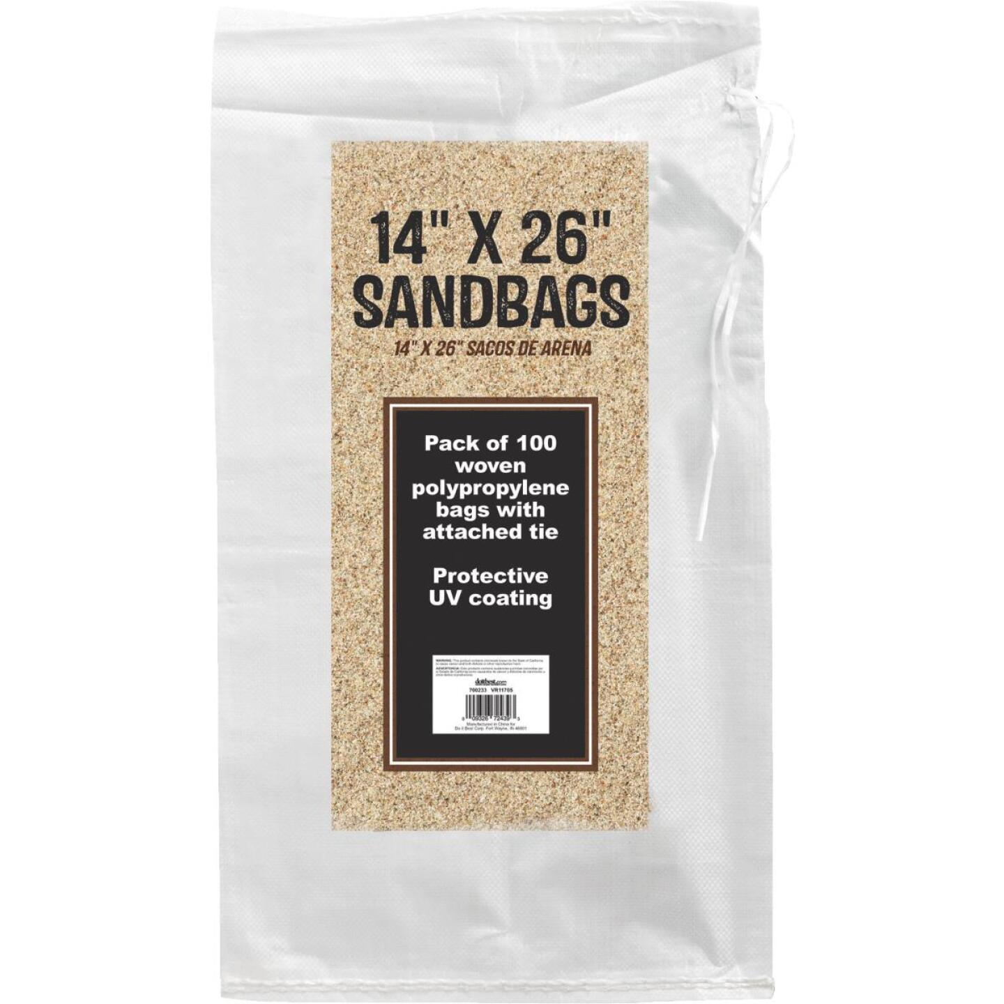 14 In. x 26 In. Empty Sandbags (100-Pack) Image 2