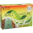 Bag To Nature 33 Gal. Green Compostable Houston Approved Lawn & Leaf Bag (10-Count) Image 2