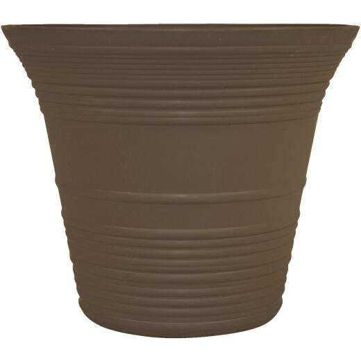 Myers Sedona 12 In. Polypropylene Vineyard Brown Planter