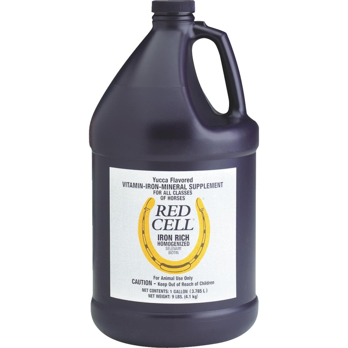 Farnam 1 Gal. Red Cell Horse Feed Supplement Image 1