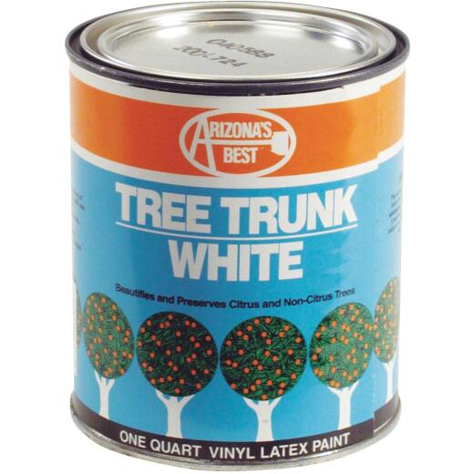 Arizona's Best White Vinyl Latex Paint 1 Quart Tree Trunk Coating