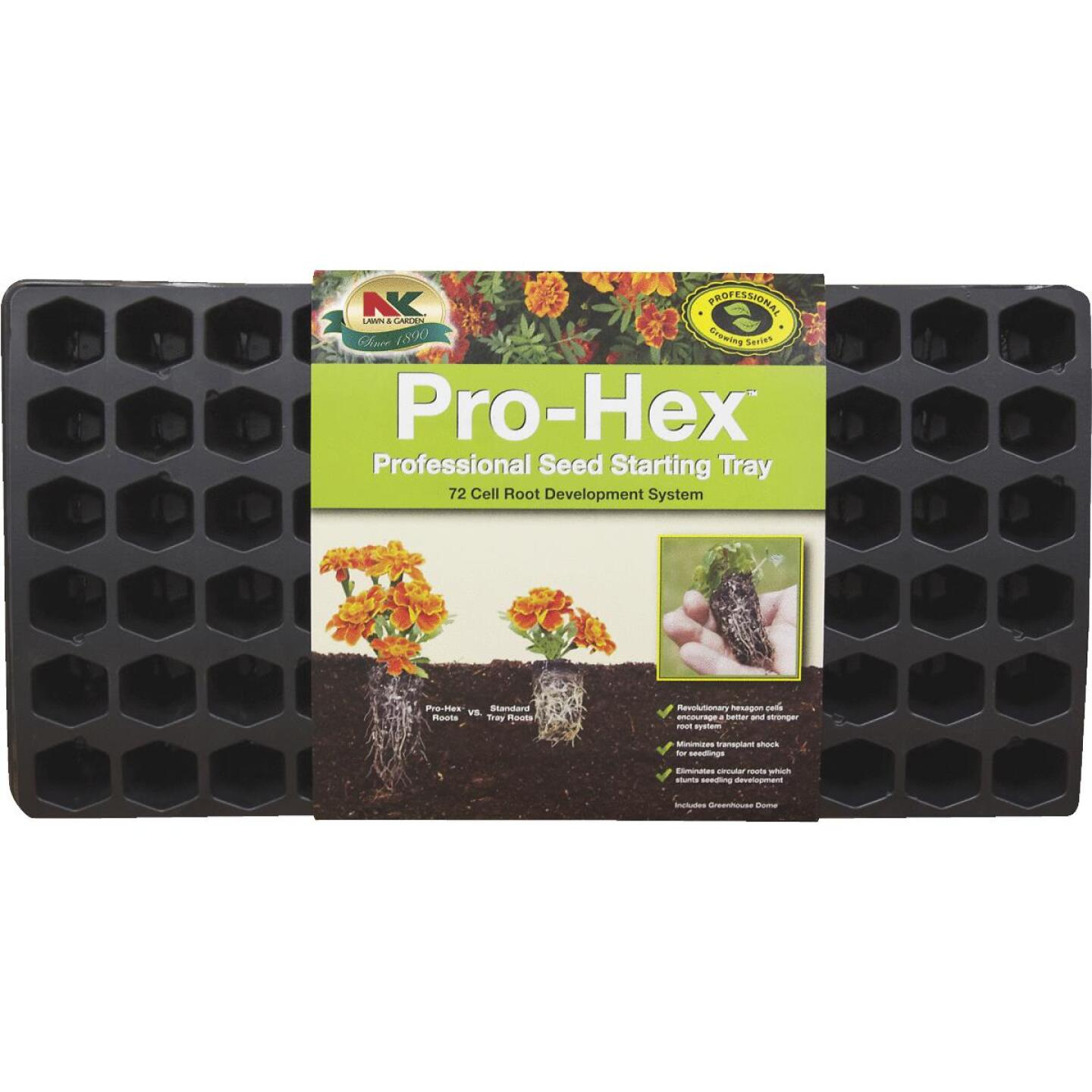 NK 72-Cell 11 In. W. x 22 In. L. Seed Starter Kit Image 1