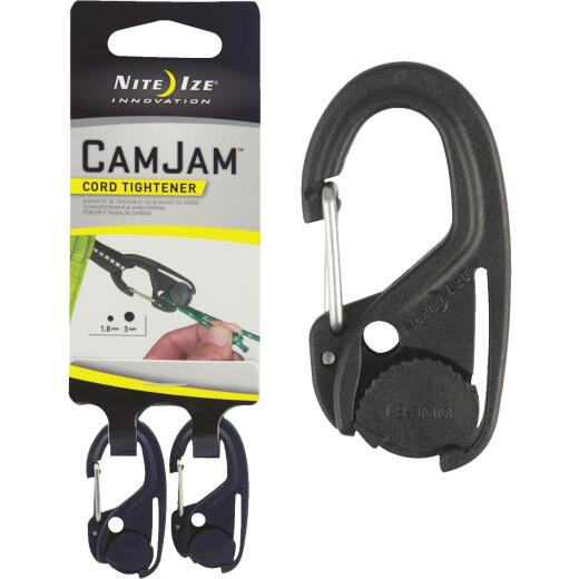 Nite Ize CamJam Plastic w/Stainless Steel Gate Rope Tightener (2-Pack)