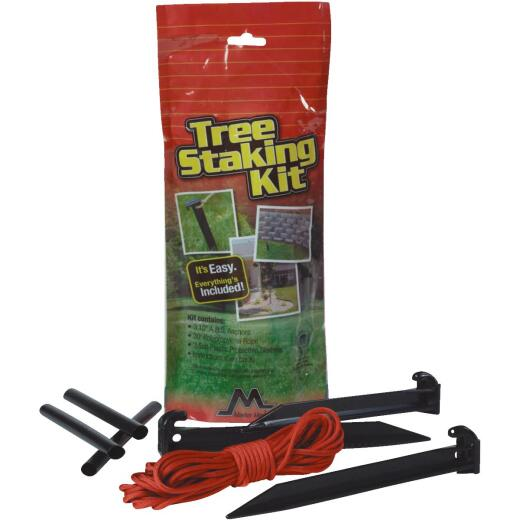 "Master Mark Plastic Smaller Than 2-1/2"" Tree Stake Kit"