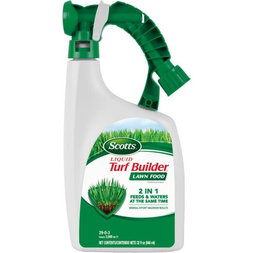 Scotts Turf Builder 32 Oz. 2000 Sq. Ft. 29-0-3 Liquid Lawn Fertilizer