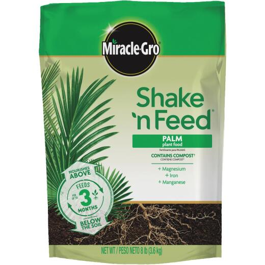Miracle-Gro Shake N' Feed 8 Lb. 8-8-8 Palm Dry Plant Food