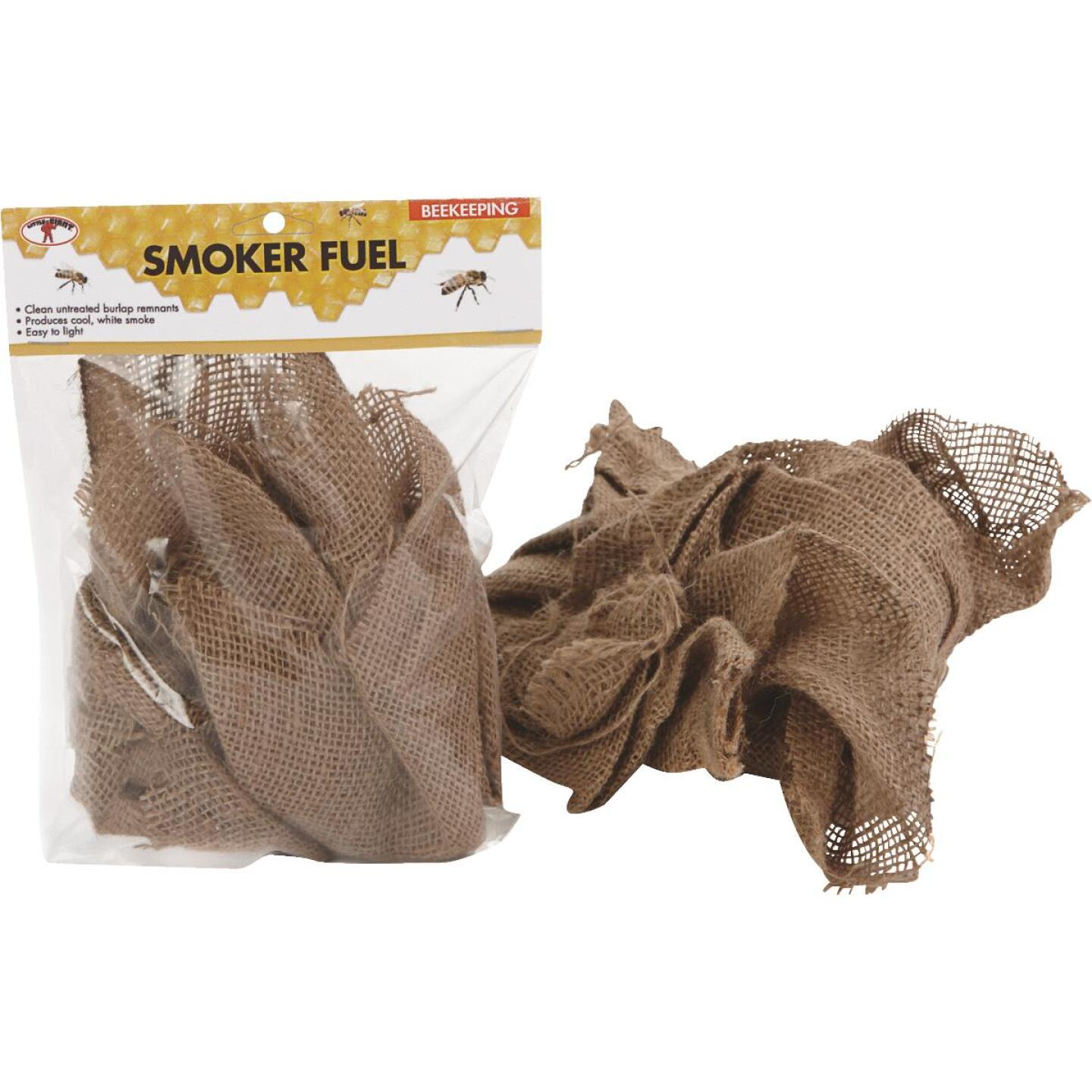 Little Giant 6.75 In. W. x 1.5 In. H. x 9.5 In. L. Burlap Smoker Fuel Beehive Tool Image 1
