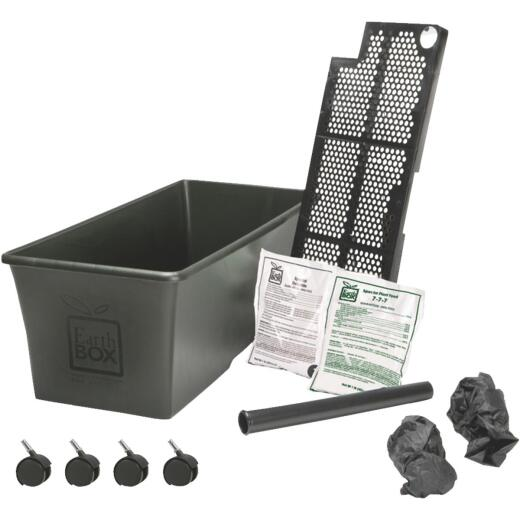 EarthBOX 14 In. W. x 11 In. H. x 29 In. L. Black Plastic Garden System