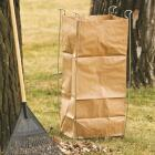 Bag Buddy 55 Gal. Plastic Bag/48 Gal. Paper Bag Capacity Wire Frame Lawn & Yard Bag Holder Image 2