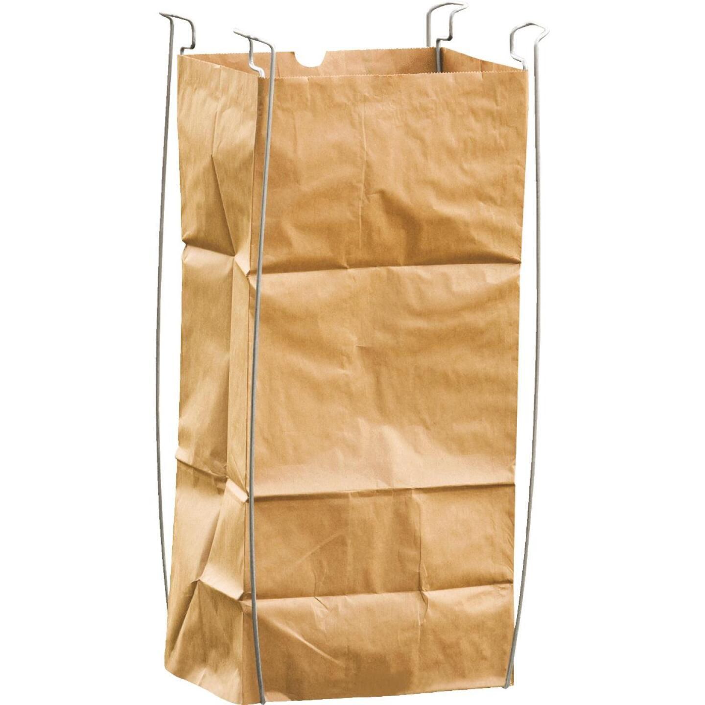Bag Buddy 55 Gal. Plastic Bag/48 Gal. Paper Bag Capacity Wire Frame Lawn & Yard Bag Holder Image 5