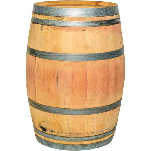 Real Wood Products 59 Gal. Oak Barrel