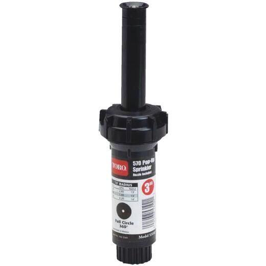 Toro 3 In. Full Circle Pop-Up Head Lawn Sprinkler