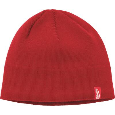Milwaukee Fleece Lined Red Beanie Sock Cap
