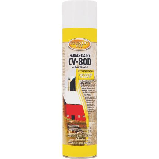 Country Vet CV-80D 25 Oz. Aerosol Fly Spray