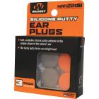 Walker's Silicone Putty Orange & Dark Earth Ear Plugs (3-Pair) Image 1