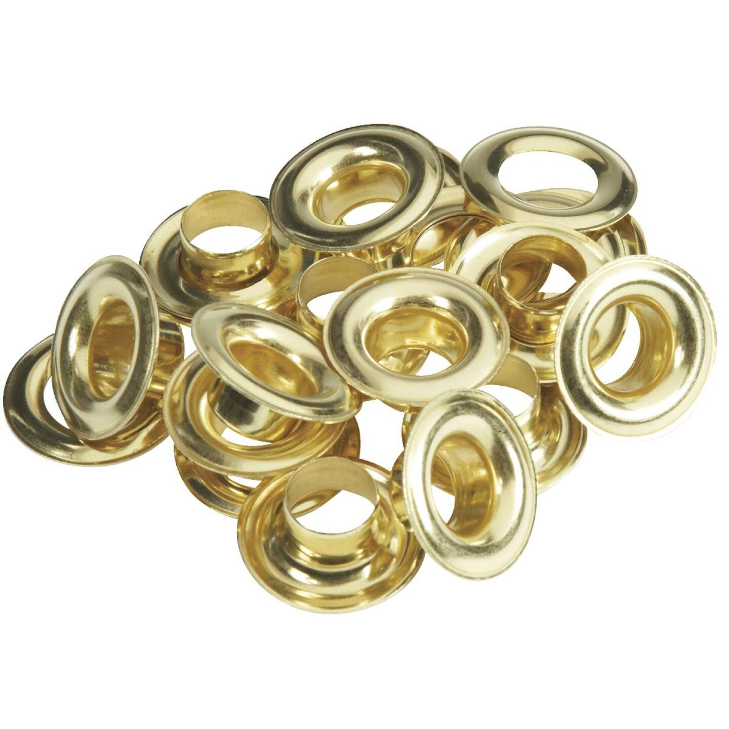 Lord & Hodge 1/2 In. Brass Grommet Refills (12 Ct.) Image 1