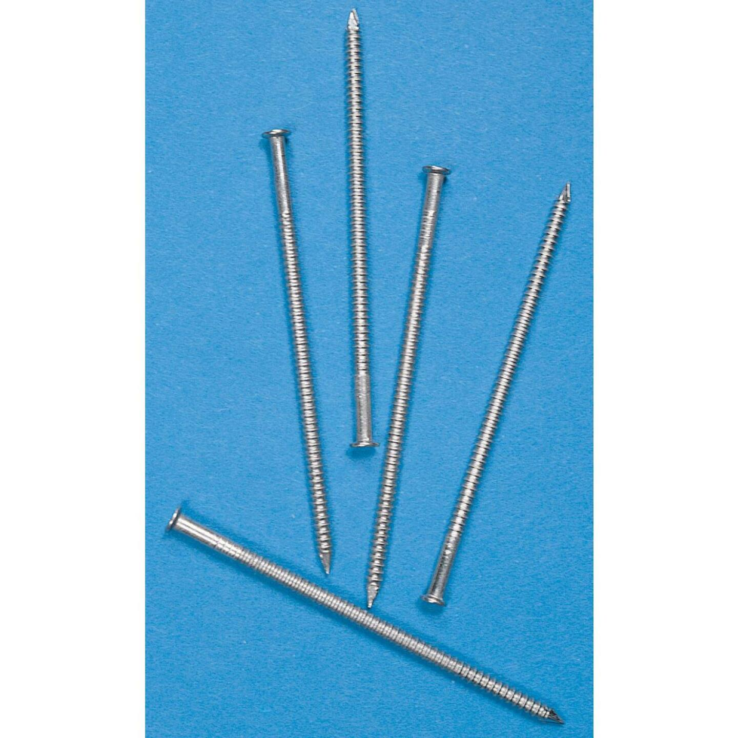 Simpson Strong-Tie 5d x 1-3/4 In. Stainless Steel Flat Checkered Siding Nails (1770 Ct., 5 Lb.) Image 2