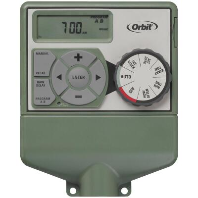 Orbit Easy Dial 4-Station Indoor Hardwired Sprinkler Timer