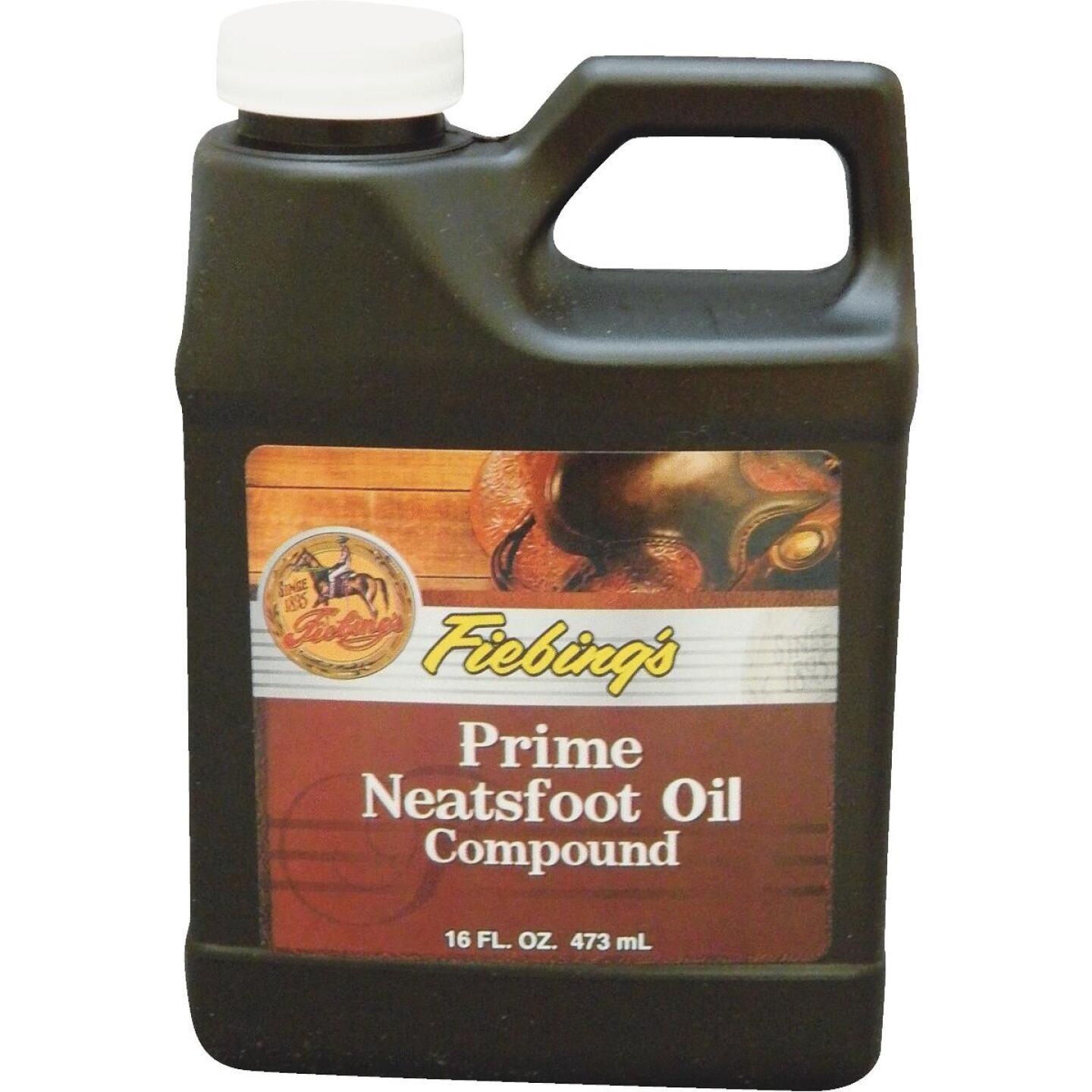 Fiebing's 16 Oz. Prime Neatsfoot Oil Compound Image 1