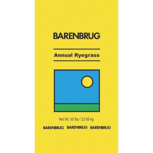 Barenbrug 50 Lb. 6250 Sq. Ft. Coverage 100% Annual Ryegrass Grass Seed