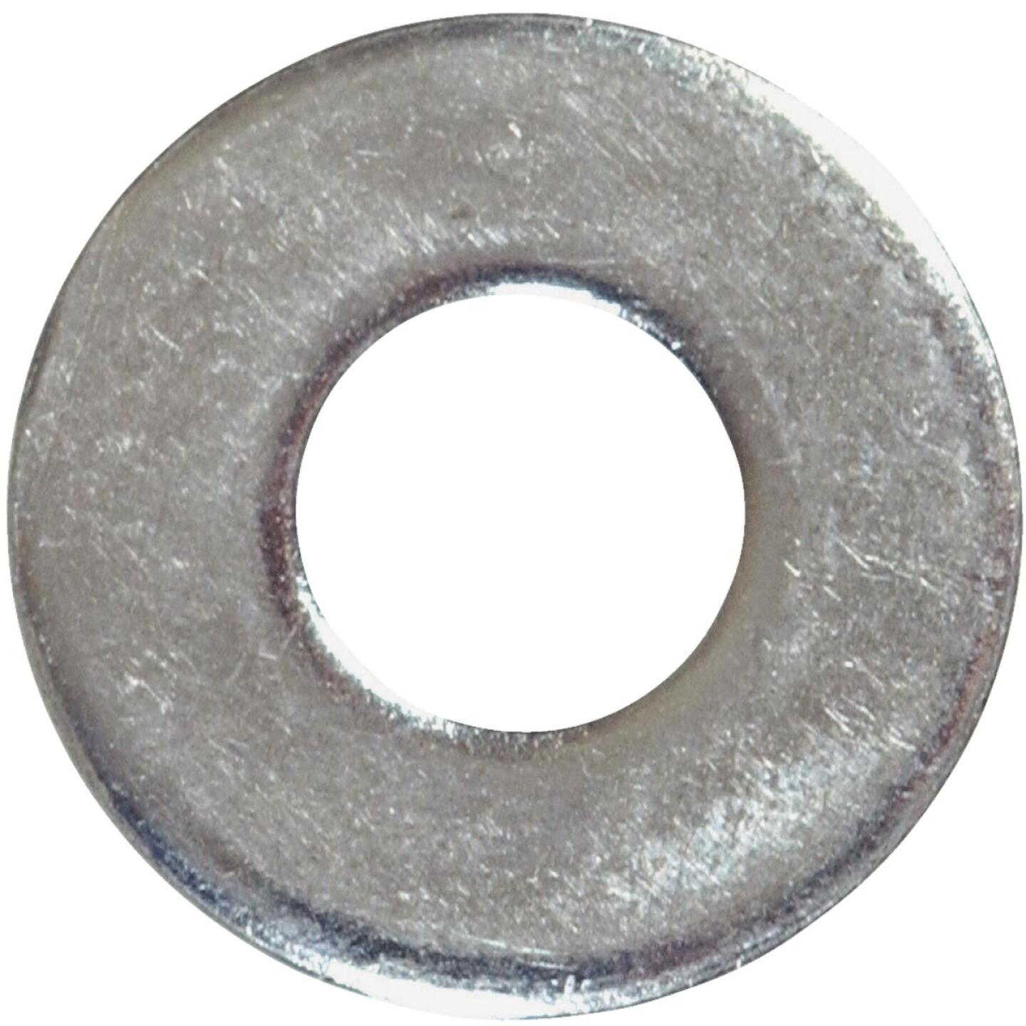 Hillman 3/8 In. Steel Zinc Plated Flat USS Washer (100 Ct.) Image 1