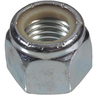 Hillman #8 32 tpi Steel Course Thread Nylon Insert Lock Nut (100 Ct.)