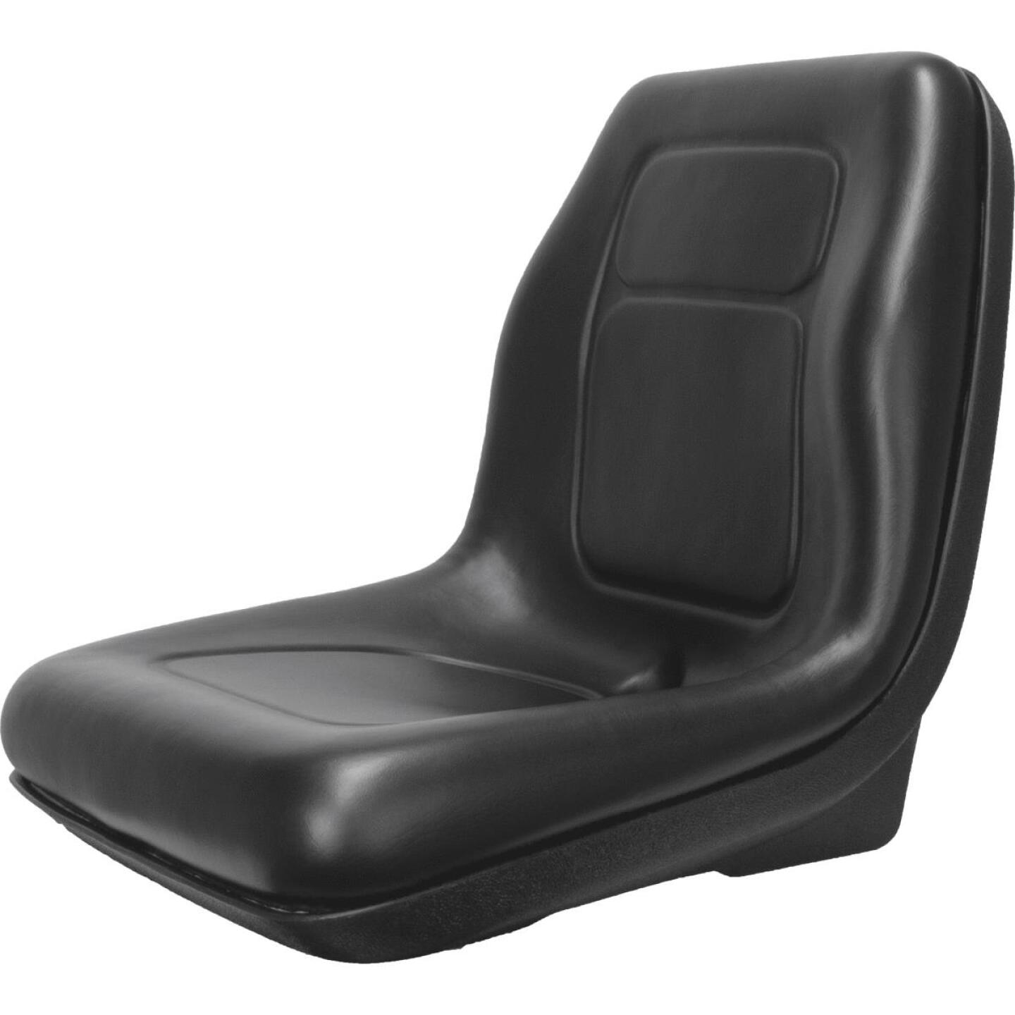 Concentric Black Talon Ultra-High Back Gator Style Black Tractor Seat Image 1
