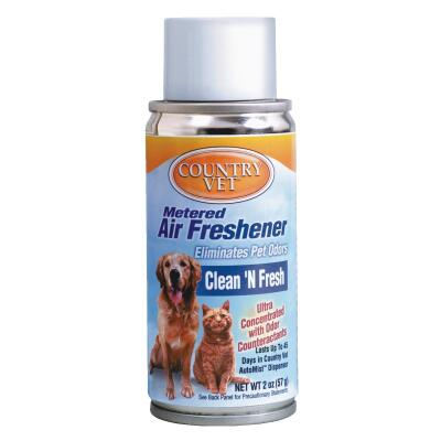 Country Vet 6.6 Oz. Clean 'n Fresh Fragrance Metered Spray Refill