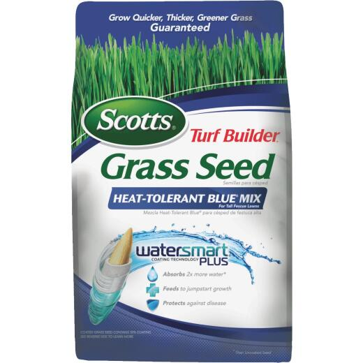 Scotts Turf Builder 7 Lb. 1750 Sq. Ft. Coverage Heat Tolerant Blue Grass Seed