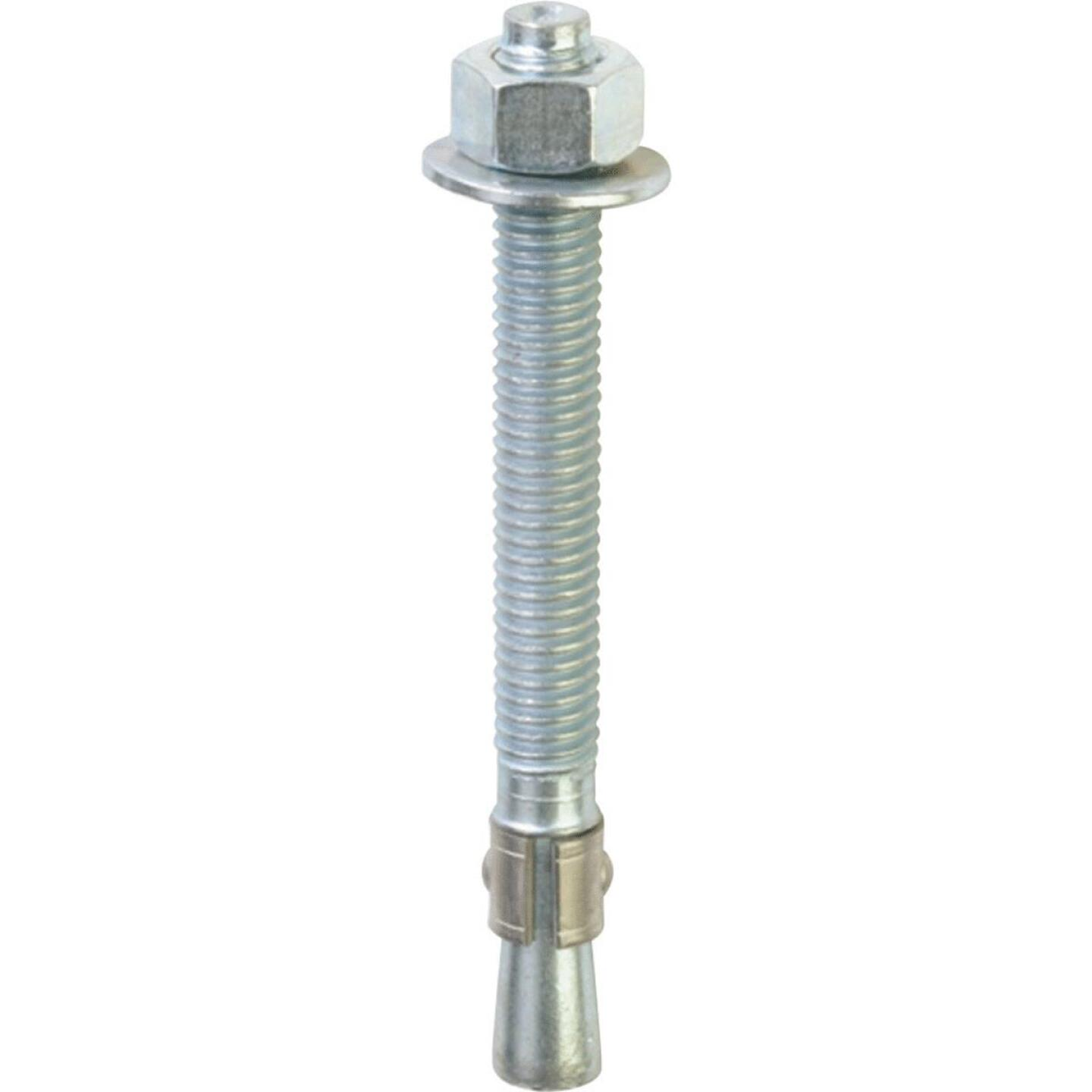 Red Head 3/8 In. x 5 In. Zinc Wedge Anchor Bolt Image 1
