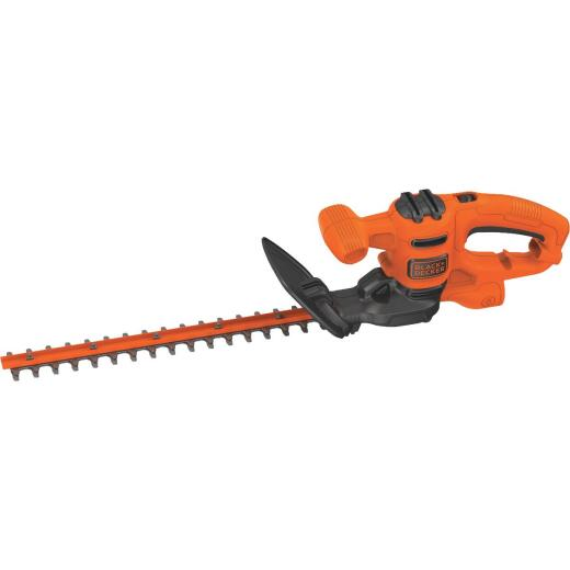 Black & Decker 16 In. 3-Amp Corded Electric Hedge Trimmer