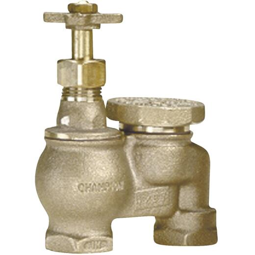 Champion 1 In. 25 to 150 psi Anti-Siphon Valve