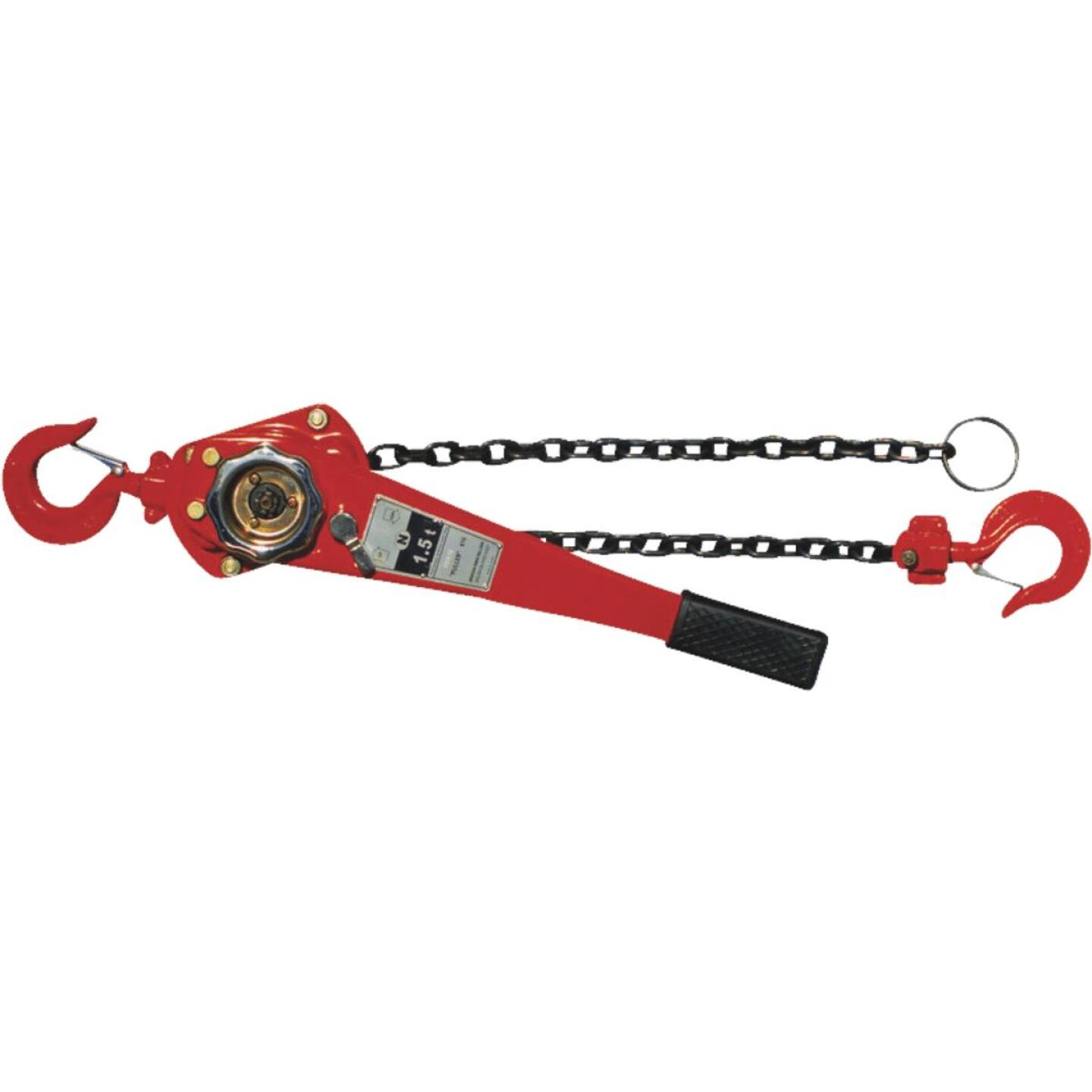 American Power Pull 1-1/2-Ton Load Capacity 5 Ft. Standard Lift Chain Puller Image 1