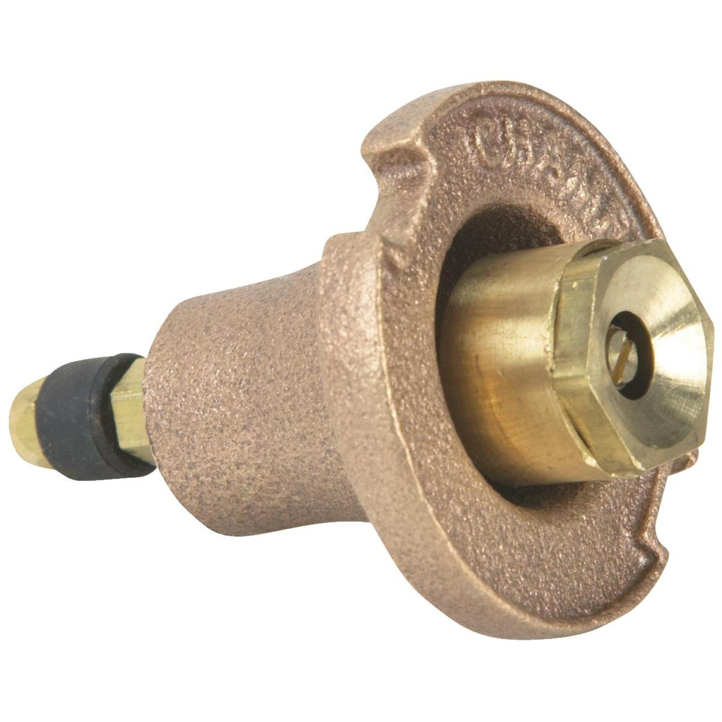 Champion 1.25 In. Full Circle Brass Pop-Up Sprinkler with Brass Nozzle Image 1
