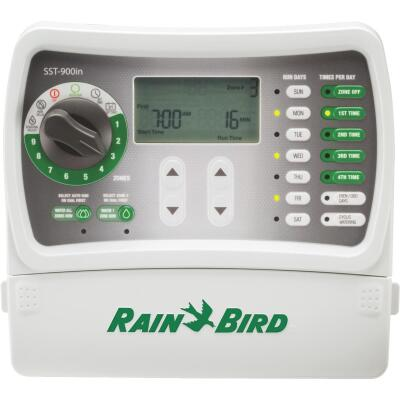 Rain Bird Simple Set 9-Station Indoor Plug-In Irrigation Sprinkler Timer