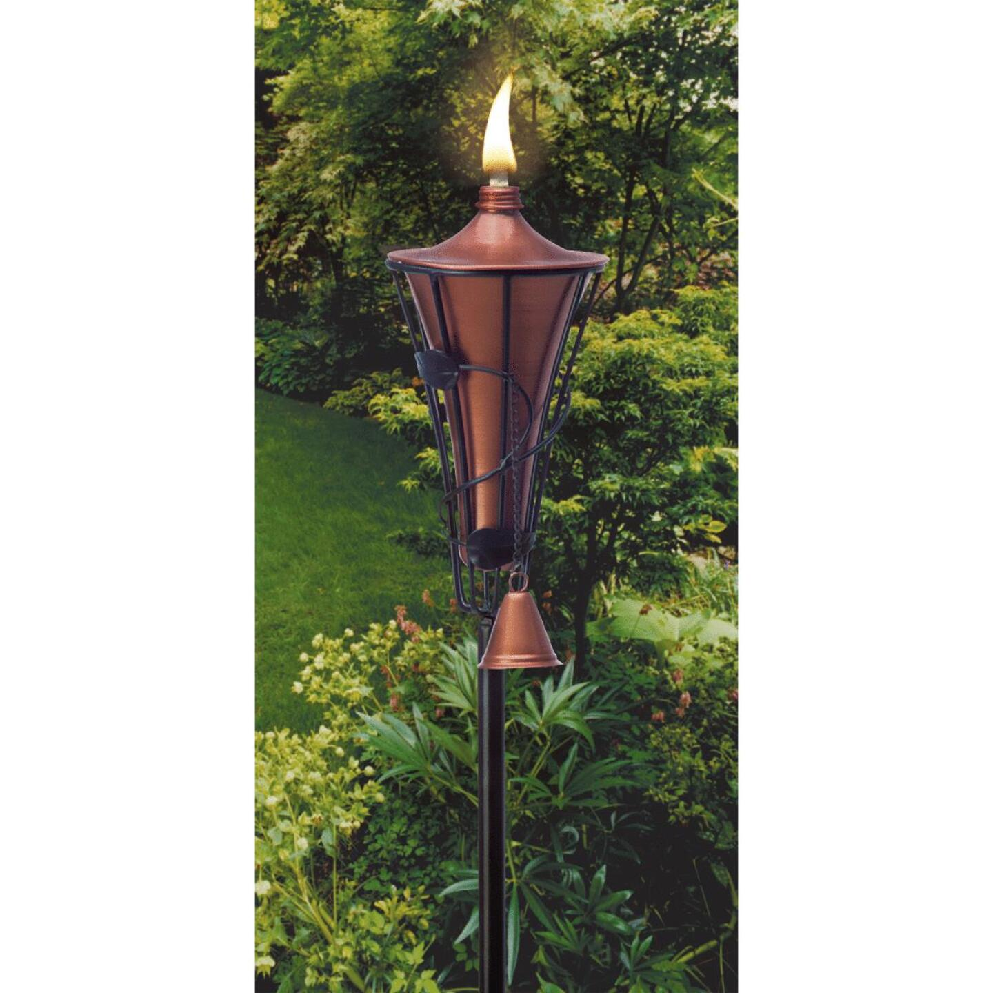 Outdoor Expressions 5 Ft. Copper Patio Torch Image 2