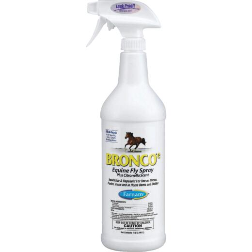 Farnam Bronco-e 32 Oz. Trigger Spray Equine Fly Spray
