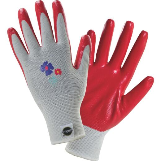 Miracle-Gro Women's Medium Nitrile Coated Garden Glove